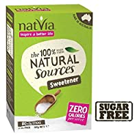 Natviaの無糖甘味料は1パック80スティック (x 2) - Natvia Sugar Free Sweetener Sticks 80 per pack (Pack of 2) [並行輸入品]