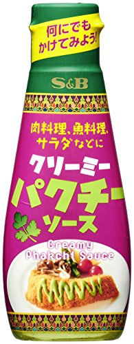 ヱスビー食品 シーズニングミックス クリーミーパクチーソース ボトル 110g [1197]