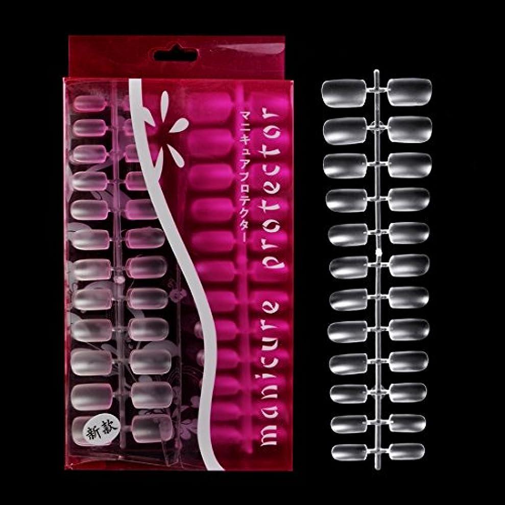 からチョップ寛大なBiutee 288枚セット 透明ネイルチップ 本物のチップようなネイルチップ 無痕素材 ネイルチップ ミディアムオーバル フルカバー.