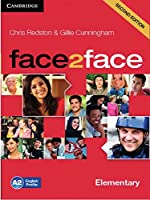 face2face. 3 Class Audio CDs. Elementary 2nd edition