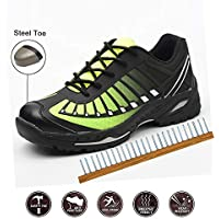Safety Shoes, Steel Toe Cap Trainers Lightweight Mens Womens Safety Shoes Work Midsole Protection,47/EU