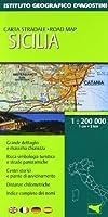 Sicilia 1:200 000. Ediz. multilingue