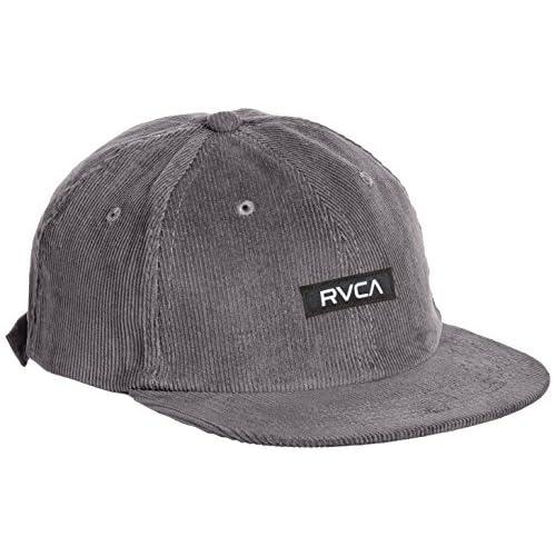 (ルーカ)RVCA ロゴキャップ FLEETWOOD SIX PANEL コーデュロイ シックスパネル AF042-904 GRY グレーノイズ F