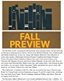 Quill & Quire's Fall Preview 2011 (English Edition)