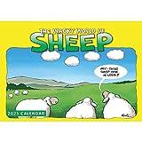 Wacky World of Sheep A4 Calendar 2021