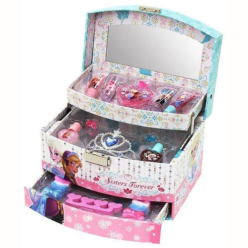 アナと雪の女王 メイクアップボックス メイクアップセット コスメ コスメボックス メイクボックス...