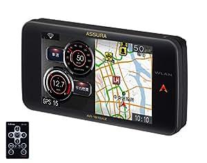 【Amazon.co.jp限定】セルスター(CELLSTAR) ASSURA 無線LAN 3.7インチ液晶搭載 GPS一体型レーダー探知機 日本生産モデル AR-181GAZ