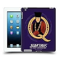 オフィシャルStar Trek Q アイコニック・キャラクターズ TNG iPad 3 / iPad 4 専用ハードバックケース