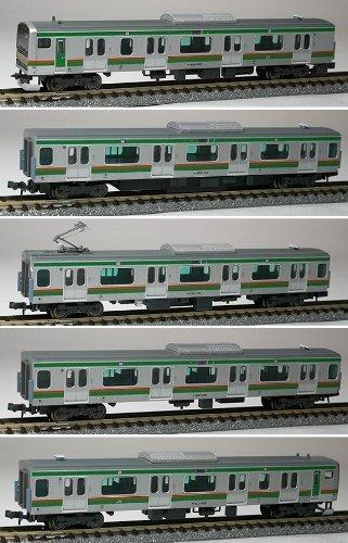 Nゲージ A4023 E231系近郊タイプ東海道線増結5両セット