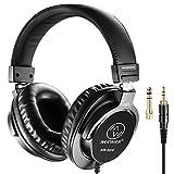Neewer NW-3000 クローズドスタジオヘッドフォン ヘッドセット ケーブルとプラグ付き
