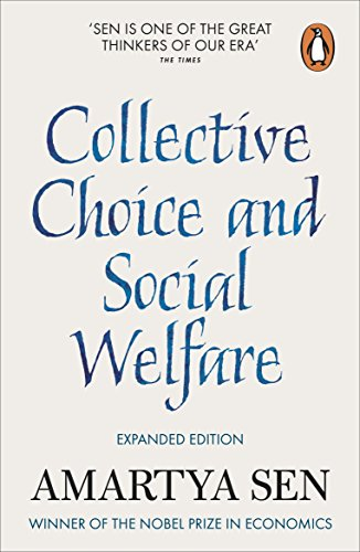 Collective Choice and Social Welfare: Expanded Editionの詳細を見る