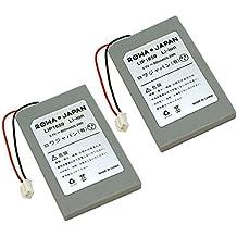 [電気安全PSEマーク付/品質確認済み][日本市場向け][2個セット] SONY PS3 Dualshock 3 ワイヤレスコントローラ LIP1359 LIP1859 LIP1472 互換 バッテリー