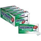 Mentos Clean Breath Mints, Spearmint, 12 Tins, 12 x 35 g, Spearmint
