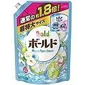 【大容量】 ボールド 洗濯洗剤 液体 アクアピュアクリーンの香り 詰替用 超特大サイズ 1.26kg