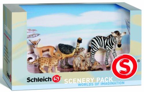 Schleich シュライヒ ベビーワイルド・セット 40983