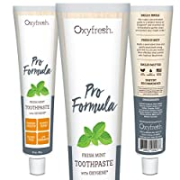 Oxyfresh Original Mint Toothpaste: For Long-Lasting Fresh Breath & Healthy Gums. Dentist recommended. No Artificial Colors, Low-Abrasion. by Oxyfresh