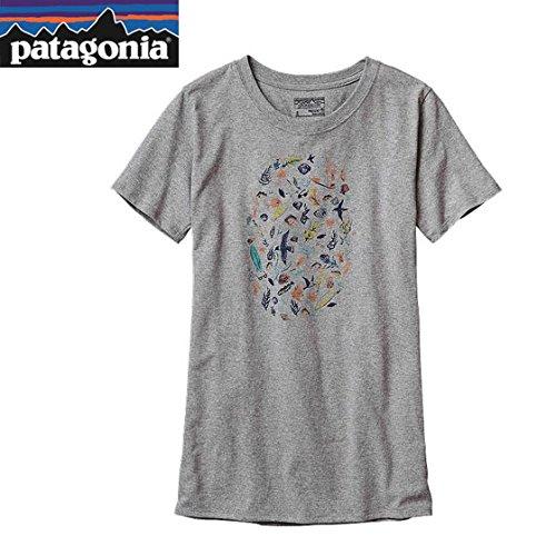 パタゴニア ウィメンズ シードゥードル リサイクルコットン/ポリ Tシャツ