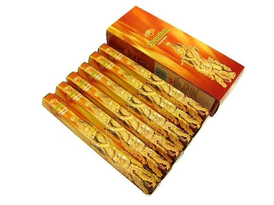 打倒グッゲンハイム美術館鏡SANDESH SAC (サンデッシュ) チャンダン香 スティック CHANDAN 6箱セット