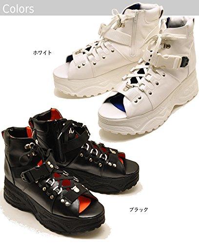 YOSUKE U.S.A ヨースケ 厚底 メンズ 厚底ブーツサンダル 厚底ブーツ レースアップブーツ
