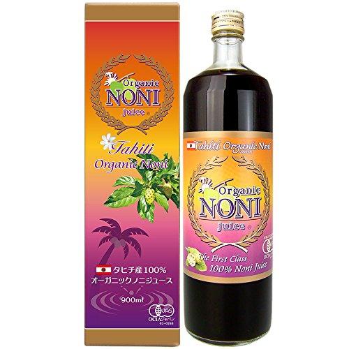 タヒチ オーガニック ノニジュース 有機JAS ノニ醗酵エキス 900ml