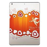 iPad mini mini2 mini3 共通 スキンシール retina ディスプレイ apple アップル アイパッド ミニ A1432 A1454 A1455 A1489 A1490 A1491 A1599 A1600 タブレット tablet シール ステッカー ケース 保護シール 背面 人気 単品 おしゃれ ラブリー ハート 天使 キューピッド 006562