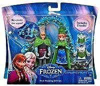 Disney Frozen Troll Wedding 3.75-Inch Gift Set [並行輸入品]
