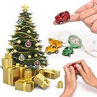 車ボール、elaco Miniクリスマスボールリモート制御車子供おもちゃギフトゴールド