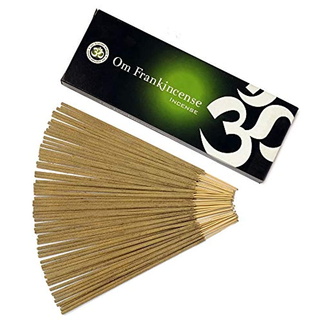 機械顔料自動車Om Incense Works Natural Fragrance Incense Sticks 100グラム 709733007101