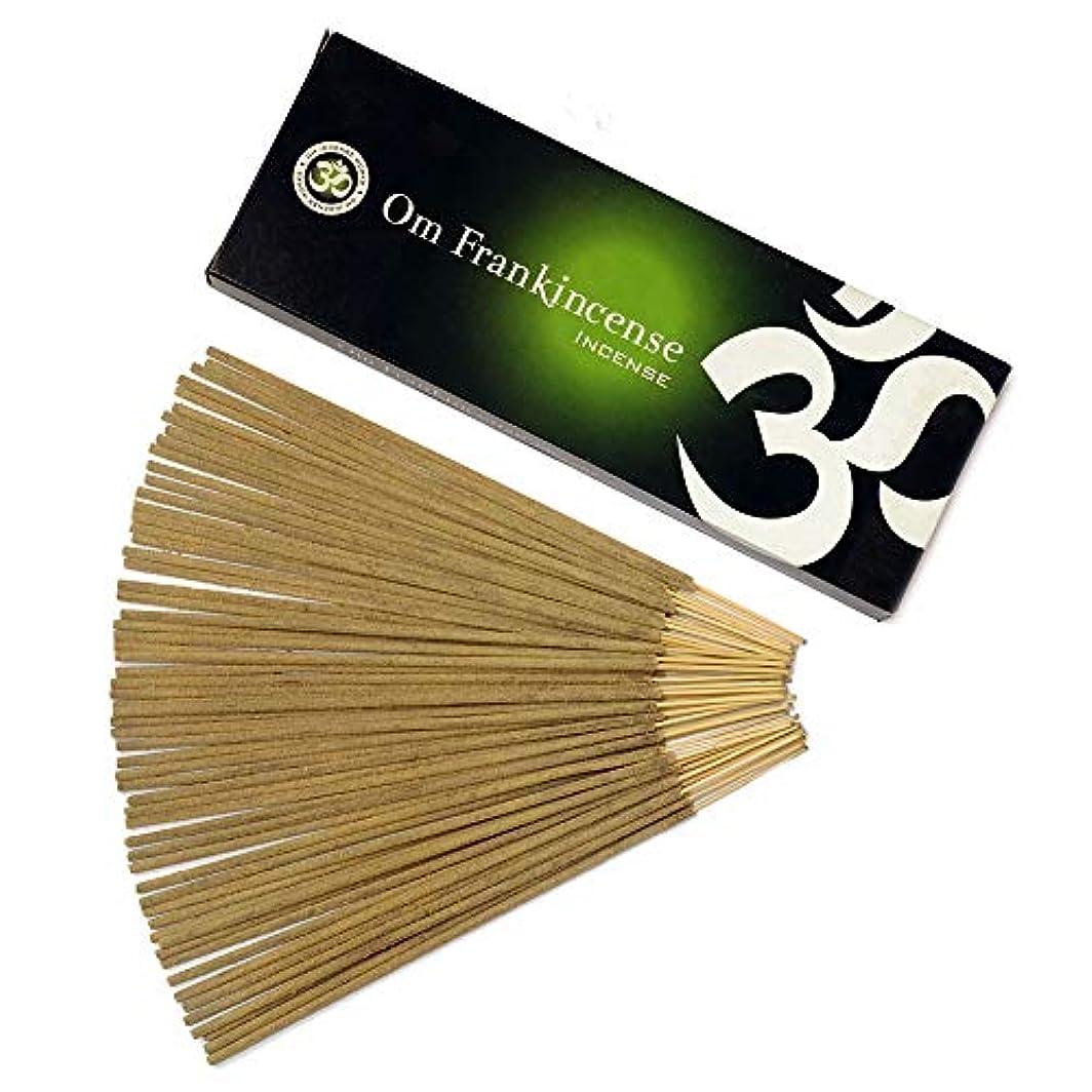 再現する雪だるまゲートOm Incense Works Natural Fragrance Incense Sticks 100グラム 709733007101