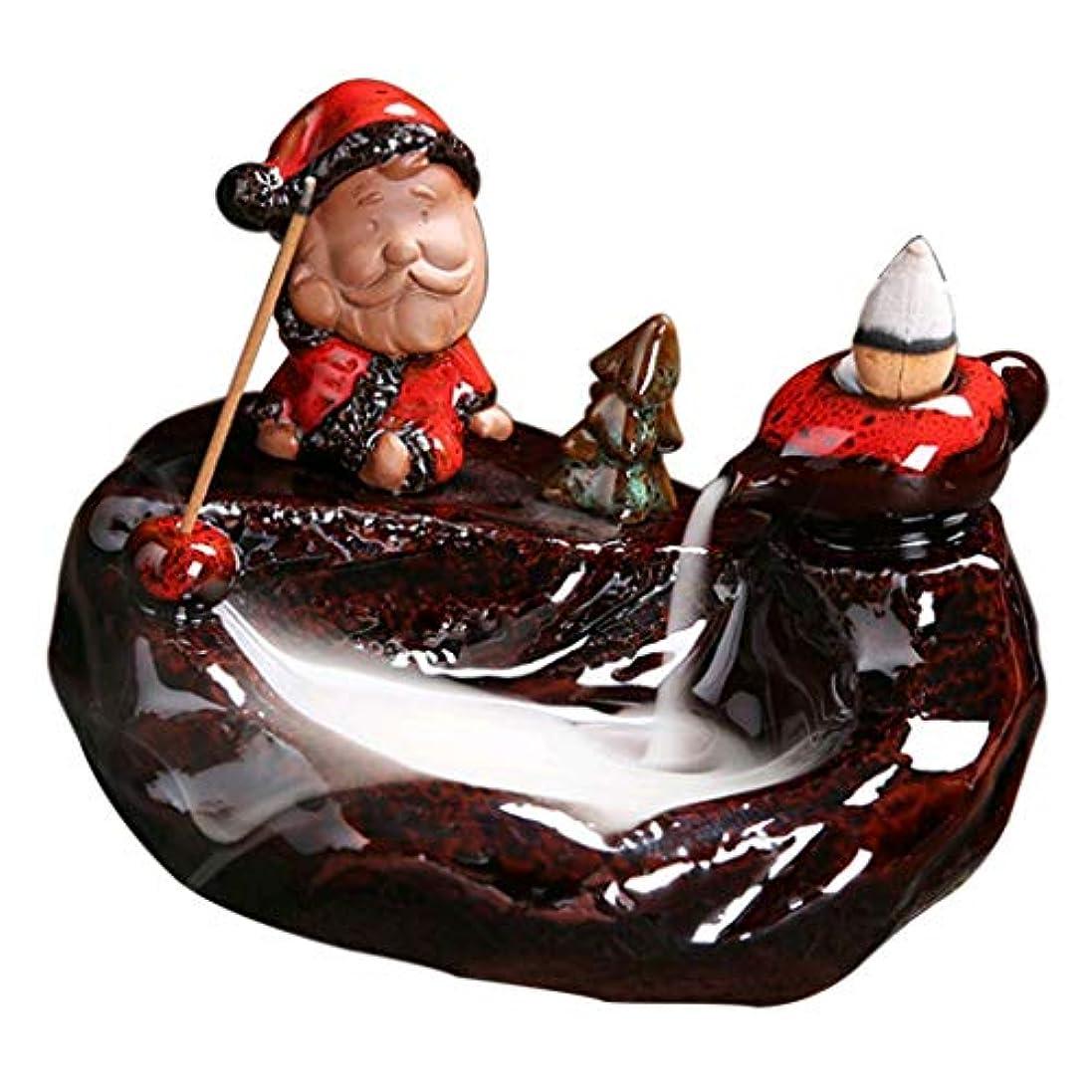 いらいらする一節ショッキングFenteer アロマセラピー 香炉 禅 クリスマステマ 装飾 - D