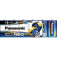 パナソニック エボルタ NEO 単1形アルカリ乾電池 6本パック 日本製 LR20NJ/6SW