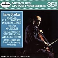 Dvorak: Cello Concerto In B Minor, Op. 104 / Bruch: Kol Nidrei / Tchaikovsky: Variations On A Rococo Theme by Janos Starker (1990-09-12)