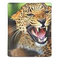 マウスパッド チーターの歯は大きな猫を見て ゲーム用 パソコン デスクマット おしゃれ 疲労低減 滑り止めゴム底 滑りやすい表面 会社 オフィス 学生 レディース 軽量 印刷