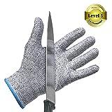 防刃繊維混紡手袋  防刃作業用軍手 防刃グローブ 作業手袋 料理用切れない手袋