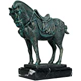 Design Toscano 11 in. Ancient Tang Horse Iron Statue [Kitchen]