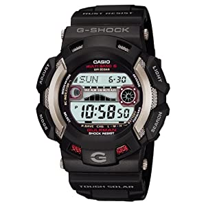 [カシオ]CASIO 腕時計 G-SHOCK ジーショック ガルフマン 電波ソーラー GW-9110-1JF メンズ