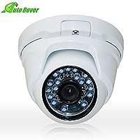 Auto Rover 1.0 Mega Pixel CCTV Security Aluminum Dome Camera Color 720P Sensor with IR cut Night Vision Home Surveillance HD f3.6mm Lens [並行輸入品]