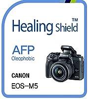 Healingshield スキンシール液晶保護フィルム Oleophobic AFP Clear Film for Canon Camera EOS-M5 [2pcs]