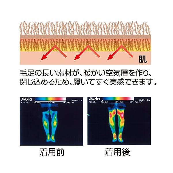 極暖 足が出せるロングカバーの紹介画像5