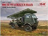 ICM 1/35 第二次世界大戦 ソビエト軍 BM-13-16 多連装ロケットランチャー W.O.T8車体 プラモデル 35591