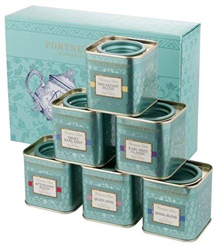& MASON フォートナム&メイソン 6種類の香りと風味 フォートナム&メイソン フェイマスティー 6缶 セット 各25g缶入り×6缶 Fortnum & Mason
