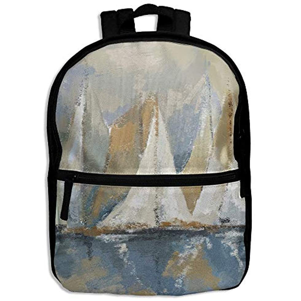 パンツわざわざ子供っぽいキッズバッグ キッズ リュックサック バックパック 子供用のバッグ 学生 リュックサック 水上のヨット アウトドア 通学 ハイキング 遠足