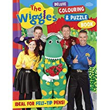 The Wiggles: Deluxe Colouring & Puzzle Book