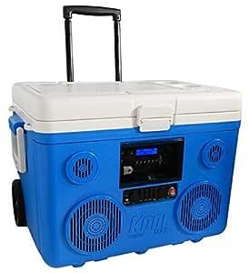 【日本仕様正規品】 KOOLMAX TUNES2GO Bluetooth スピーカー付きクーラーボックス (Blue)