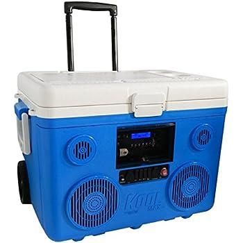 クールマックス KOOLMAX TUNES2GO Bluetooth スピーカー付きクーラーボックス 37L キャスター付【日本仕様正規品】