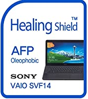 Healingshield スキンシール液晶保護フィルム Oleophobic AFP Clear Film for Sony Laptop Vaio Fit14 SVF14