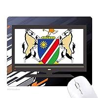 ナミビアアフリカ共和国 ノンスリップラバーマウスパッドはコンピュータゲームのオフィス