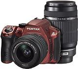 PENTAX デジタル一眼レフカメラ K-30 ダブルズームキット [DAL18-55mm・DAL55-300mm] シルキーレッド K-30WZK S-RD 14596