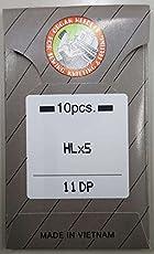 オルガン針 家庭用/職業用 ロックミシン針 HL×5(10本入) (#11DP)