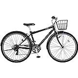 ミヤタ(MIYATA) クロスバイク SJクロス BSH42A7(OK08) マッドブラック